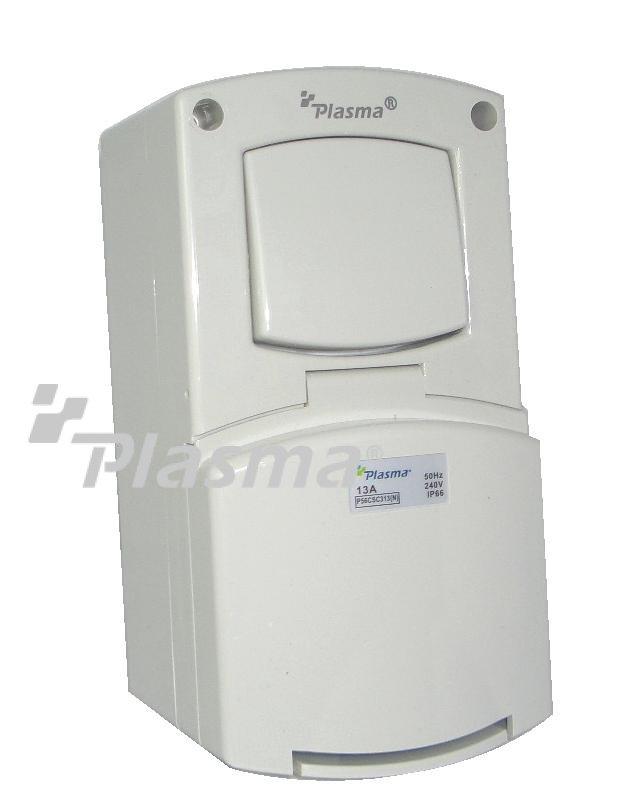 Plasma Electric  U00bb Weatherproof Switch Socket