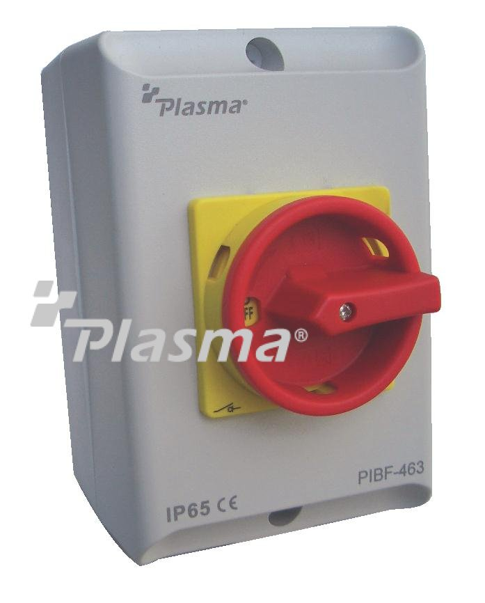Plasma Electric 187 63a 4pole Isolator C W Enclosure Box